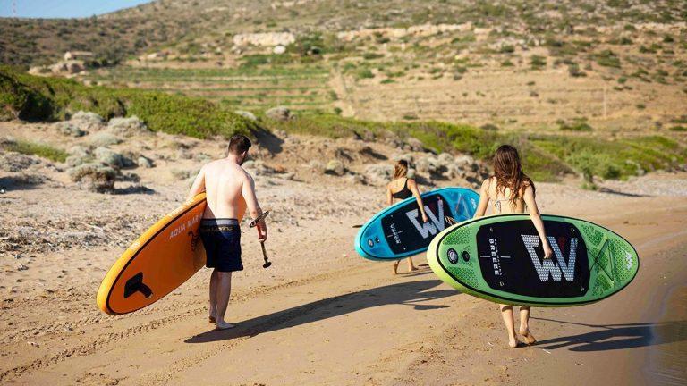 Waar zijn alle supboards beschikbaar op het internet? Lees hier meer over de peddels, kajaks en andere watersporten!